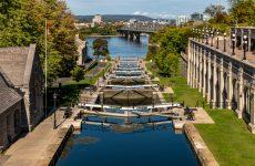 Ottawa Locks of the Rideau Canal, Canada