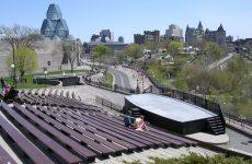 Open-air theather in Ottawa